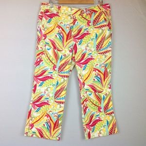 Tommy Hilfiger Cropped Pants Womens 14 Stretch